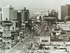 Las Vegas Strip 1983.  www.all-chips.com has chips from all these casinos plus thousands of others forsale!