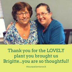 We love Brigitte! #gfdpatientsrule #calvertcountydentist