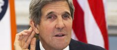 While Terrorists Threaten to Behead Another Journalist, John Kerry Talks Trash to ISIS on Twitter. Kerry just got back from the Solomon Islands where he was 'fighting' global warming. What a brave guy! He and Obama say they will 'crush' ISIS but Obama may send fewer than 300 US Troops to Iraq.