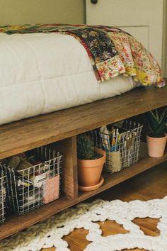 bett selber bauen kleines schlafzimmer anleitung