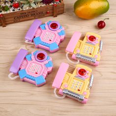 Creative Developing Intelligence Educational Learing Kid Musical Phone Toy