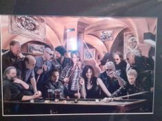 page, not sure where its from or who painted it, thought it was pretty cool Soa Cast, Sons Of Anarchy Samcro, Pretty Cool, Fan Art, Addiction
