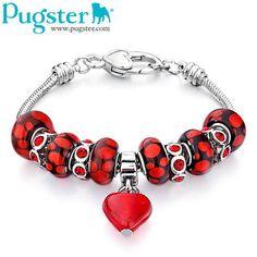 Pugster Valentine bracelet