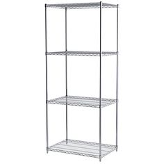 AkroMils AWS862436SU 4Shelf Wire Shelving Starter Unit 24 x 36 x 86 Chrome ** Be sure to check out this awesome product.Note:It is affiliate link to Amazon.