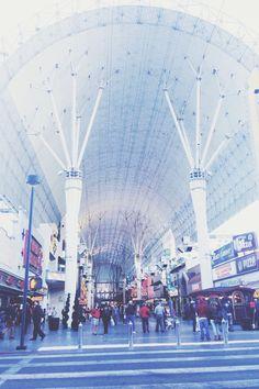 Fremont Street Experience; Las Vegas, NV