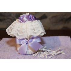 Porta cotton fioc in cotone trapuntato e raso di cotone http://www.lineahouse.it/product.php?id_product=86