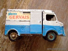 Vintage French Dinky Toy Glaces Gervais 1960's