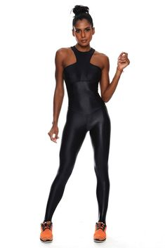 b23df6b7a817 Covered Bright Brazilian Workout Jumpsuit