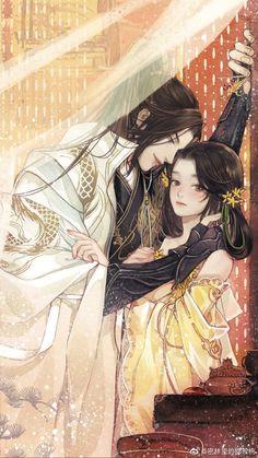 Romantic Anime Couples, Romantic Manga, Cute Anime Couples, Anime Art Girl, Manga Art, Manga Anime, Anime Couples Drawings, Anime Couples Manga, Chinese Drawings