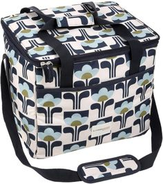 Orla Kiely Design Family 25L Cooler Picnic Bag Food Drink Insulated Storage Box
