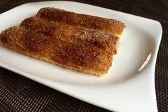 Fahéjas kalácsrudak, avagy hamis kürtőskalács glutén-és tejmentesen