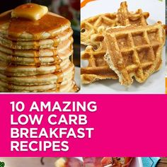 Breakfast 10 Amazing Low Carb Breakfast Recipes You Need To Try Right Now 10 Delicious Low-Carb Breakfast Mania Recipes To Inspire You. From yummy Pancakes to drool worthy Egg Muffins. I promise you will love this recipe Weiterlesen Low Carb Sweets, Low Carb Desserts, Sweet Desserts, Breakfast Low Carb, Breakfast Recipes, Breakfast Casserole, Best Low Carb Recipes, Top Recipes, Low Carb Cereal