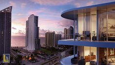 #Aurora is the latest addition of #LuisRevuelta to #SunnyIsles skyline. Visit http://laugerealty.com/miami/aurora/ for more info.