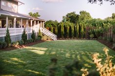 VENUE | THE CORDELLE | Nashville, TN. This brand new Nashville venue has 4 venue spaces including this giant lawn and garden area with a 100 year old Huckleberry tree!  Full Report. www.venuereport.com/blog