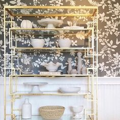 This etagere styling