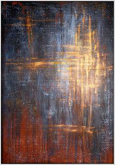 HETTNER* Bild ORIGINAL Kunst GEMÄLDE modern MALEREI abstrakt XXL Acryl NEU