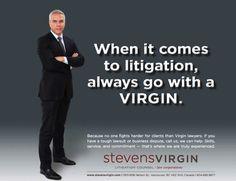 Virgin - go with a virgin ad