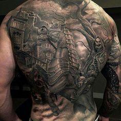 Tattoo by greg nicholson