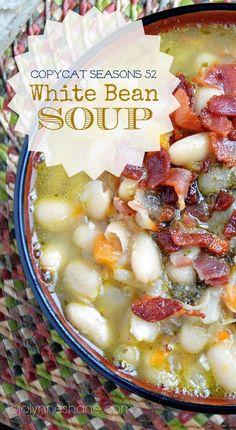 White Bean Bacon Soup Recipe
