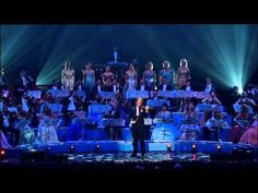 "Andre Rieu (Holland) his orchestra choir did a tribute to Frank Sinatra with ""My Way"" on his (Stradivarius) violin."