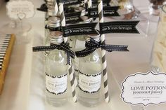 Little Big Company | The Blog: Black and White Themed Wedding by PAPER Playground