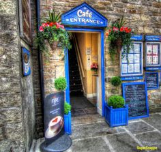 Cafe, North Yorkshire, UK