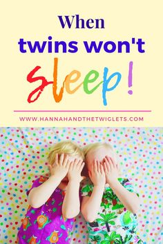 Do you find yourself having bedtime battles with your twins? Here's what we struggled with our two year old twins, and how we tried to make bedtime run more smoothly. Toddler Sleep, Kids Sleep, Baby Sleep, Mom And Baby, Mommy And Me, Attachment Parenting Quotes, Kids Behavior, Child Behaviour, Irish Twins