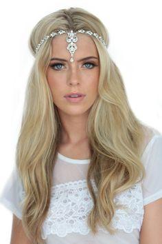 Headpieces : BAILEY Dazzling crystal Headpiece