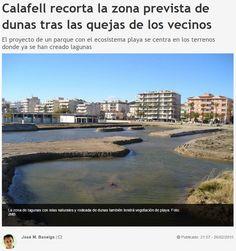 WEBSEGUR.com: LA PARTICIPACIÓN CIUDADANA EN CALAFELL HACE AGUAS