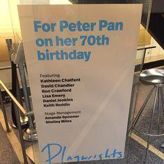 #peterpanonher70thbirthday