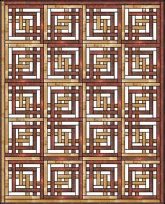 Carpenter's Square Quilt (tutorial)