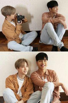 Ikon Wallpaper, Couple Wallpaper, Ikon Junhoe, Kim Hanbin, Delete Image, Media Images, Celebrity Couples, Handsome Boys