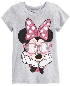 Disney Minnie Mouse Graphic-Print T-Shirt, Little Girls