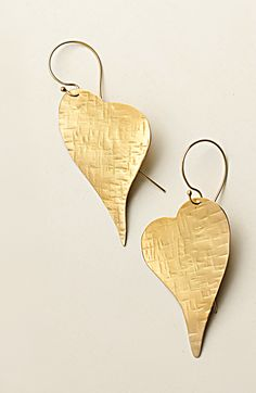 Hand made silver gold plated earrings by giousouri.gr