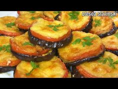 receta de aperitivo de berenjena más deliciosa ¡Nunca volverás a freír berenjenas berenjena favorita - YouTube Eggplant Appetizer, Eggplant Pizzas, Eggplant Recipes, Greek Recipes, Italian Recipes, Real Food Recipes, Cooking Recipes, Appetizer Recipes, Dinner Recipes