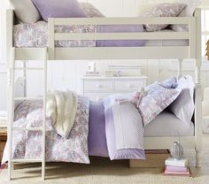 Catalina Bunk Bed, Simply White | Pottery Barn Kids