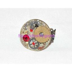 Steampunk Ring (Rg005 7)