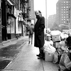 """Follow your inner moonlight; don't hide the madness.""     — Allen Ginsberg    (Photo by Michael Tighe, NYC, 1974)"
