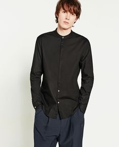 SLIM FIT OXFORD SHIRT-View all-SHIRTS-MAN | ZARA Vietnam