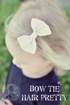 http://funkypolkadotgiraffe.blogspot.com/2011/05/tutorial-thursday-bow-tie-hair-clip.html