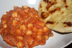 Chana masala #kikert #chickpeas #vegan #vegetarian #indian