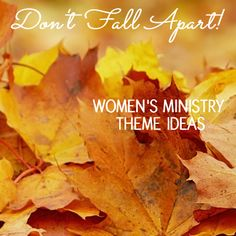 Fall Apart Women's Ministry Theme 'bump in the night'