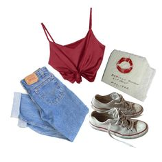 Blotted by brm99 on Polyvore featuring Levi's and Converse