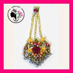 Passa - Handcrafted Beautiful Floral/Gota Jewellery available for Weddings, Mehndi, Pre-weddings, Engagement, Vatna, Maiyyan, Sangeet, Shagun, Haldi ceremony, Chunni, Kurmai.