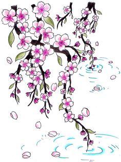 Cherry Blossoms for Jen by Jen-van.deviantart.com on @DeviantArt