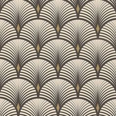 Noir et doré art deco bar, art deco print, art deco curtains, art Motif Art Deco, Art Deco Bar, Art Deco Print, Art Deco Design, Art Deco Wallpaper, Pattern Wallpaper, Vinyl Wallpaper, Art Deco Curtains, Molduras Vintage
