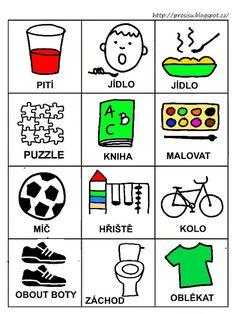 Pro Šíšu: Komunikační obrázky Aurora, Playing Cards, Education, Languages, Autism, Idioms, Playing Card Games, Speech And Language, Learning