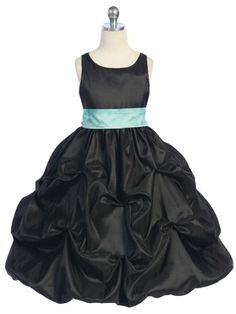 A Gorgeous taffeta bubble pick up flower girl dress. Features a lovely pick up skirt, embroidered bodice, and rhinestone accent. Choose your sash and pin-on flower color. Perfect for Flower girls dresses, formal/party dresses, and princess dresses. Dress Flower, Flower Girl Tutu, Flower Girl Dresses, Flower Girls, Burgundy Homecoming Dresses, Black Bridesmaid Dresses, Junior Bridesmaids, Taffeta Dress, Dress Sash