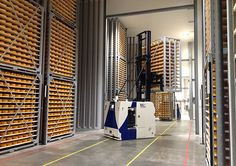 BA Systèmes completes AGV automation of FrieslandCampina's 2nd cheese factory in Gerkesklooster - http://www.logistik-express.com/ba-systemes-completes-agv-automation-of-frieslandcampinas-2nd-cheese-factory-in-gerkesklooster/