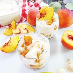 Homemade Summer Peach Ice Cream Recipe Instanomss Nomss Delicious Food…